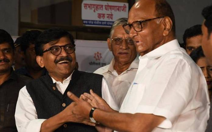 Shiv Sena abandons the Gandhis, says would be happy if Sharad Pawar becomes UPA chairperson