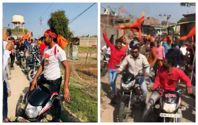 Stone pelting on Hindu rally in Indore
