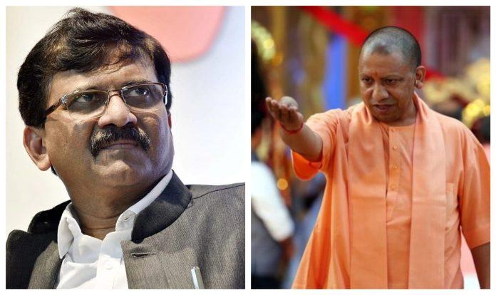 Yogi Adityanath attacks Sanjay Raut