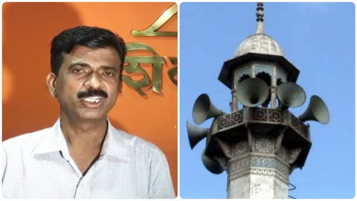 Shiv Sena leader Pandurang Sakpal denied having announced azaan recitation competition for Muslim kids