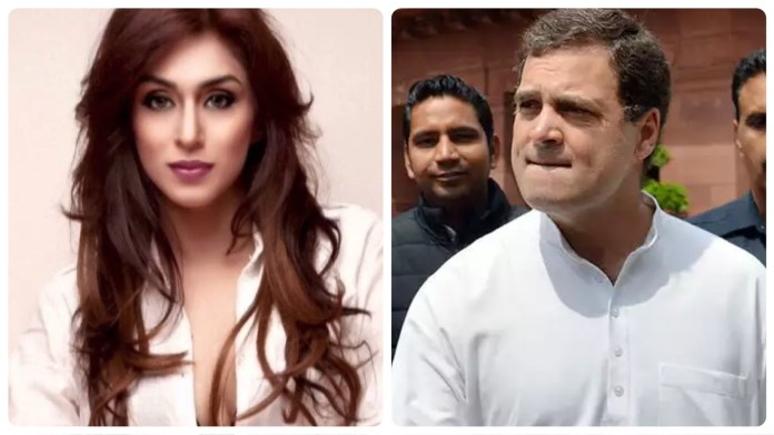 Andria D'Souza goes an extended rant to defend Congress and Rahul Gandhi's visit to Italy