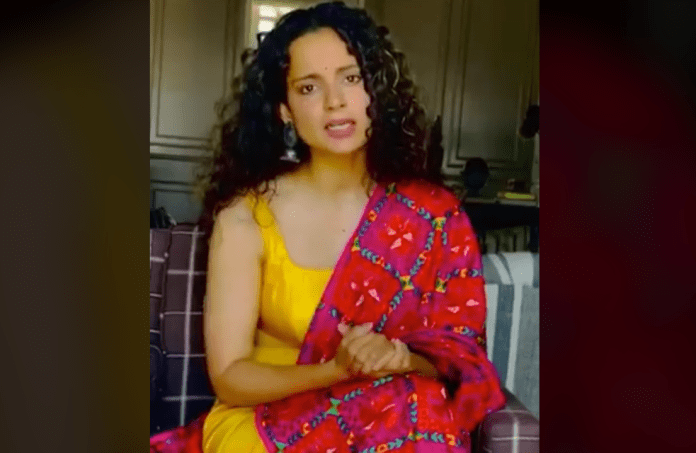 Kangana raises pertinent questions of the society in a new video shared by her