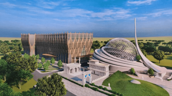 Images of 'futuristic' Ayodhya mosque released by IICF