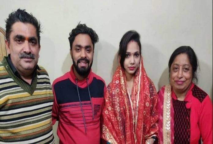 Muslim woman married Hindu boy in Meerut