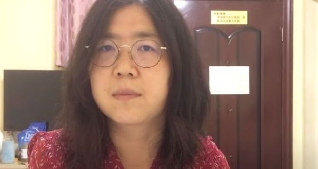 Zhang Zhan sentenced to jail