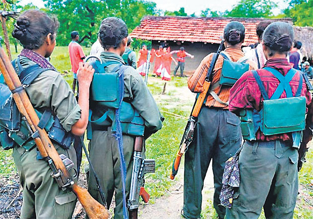 Women Maoists used as shields, fall to bullets, says a report