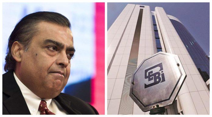 SEBI fines Reliance, Mukesh Ambani