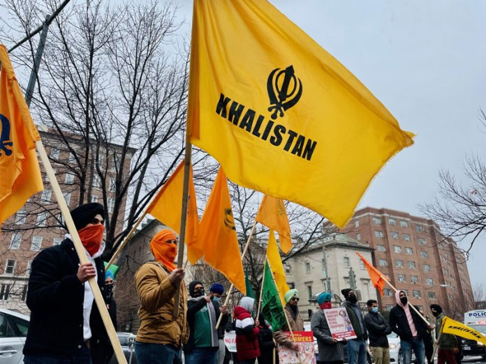 Khalistani supporters hold protests outside Indian embassy in Washington DC