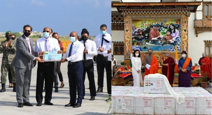 Bhutan Maldives vaccine