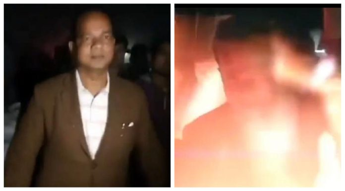 Crude bomb hurled at WB Minister