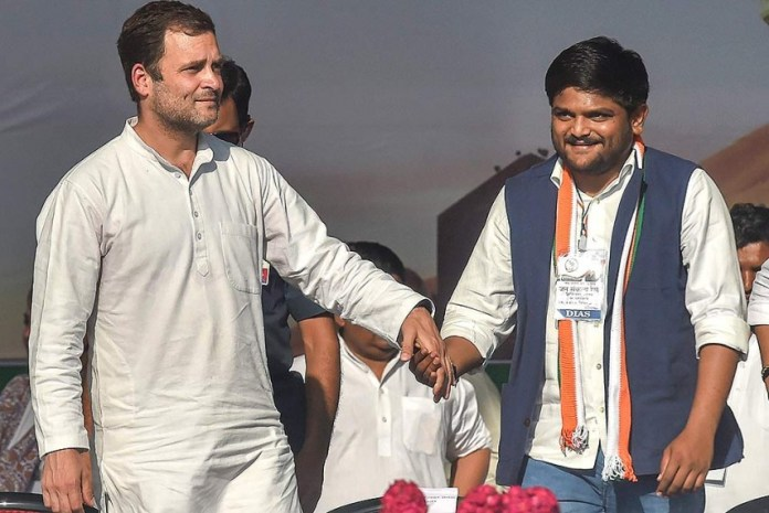 After poll drubbing in 6 Municipal Corporations in Gujarat, Hardik Patel blows a gasket against Congress