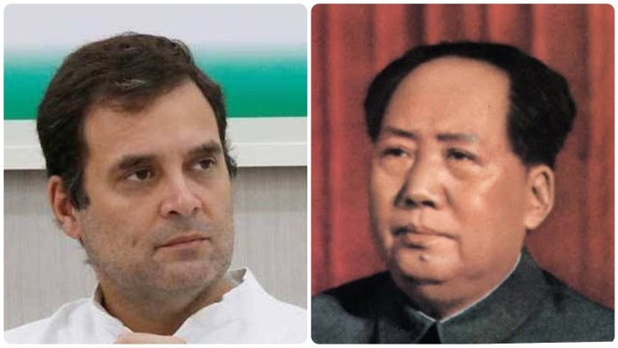 Rahul Gandhi leaves out Mao Zedong, the founder of China and the biggest dictator of the 21st century in his list of dictators starting from 'M'