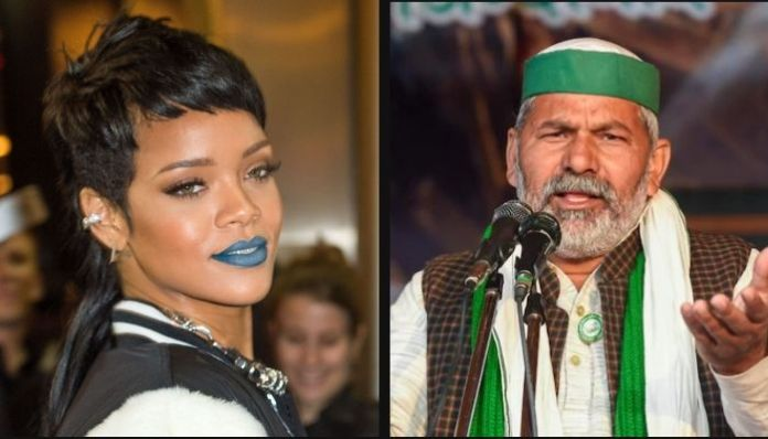 Rakesh Tikait hasn't heard about Rihanna but happy for her support
