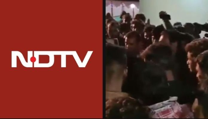 NDTV peddles one-sided story about a Dalit wedding procession being disrupted