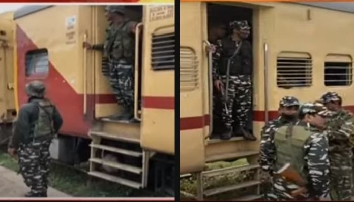 12 companies of Central forces arrive in West Bengal ahead of polls: Details