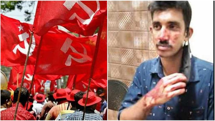 Communist Party workers attack policemen to free party leader from custody, injure four