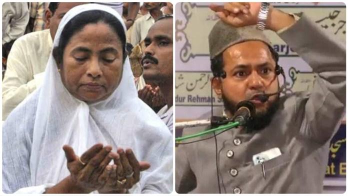 Mamata Banerjee(L), Maulana Jarjis(R)