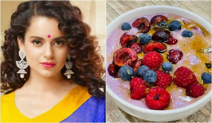 Did Kangana Ranaut share food photo copied from the internet?