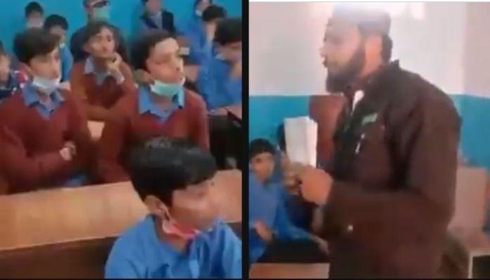 Watch: Pakistani school teaches students to do jihad, behead blasphemers