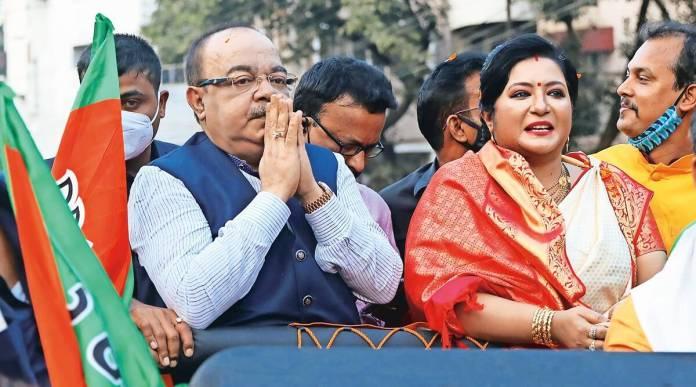 Sovan Chatterjee and Baisakhi Banerjee quit BJP