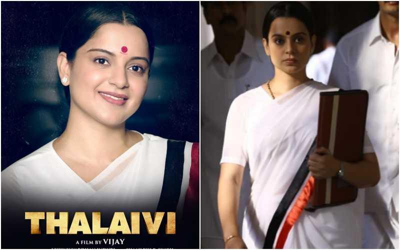 Thalaivi trailer released: Kangana Ranaut shines in Jayalalithaa's biopic
