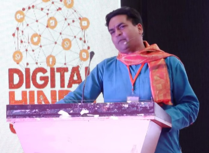 Kapil Mishra makes scathingly candid remarks at Digital Hindu Conclave organised in Hyderabad