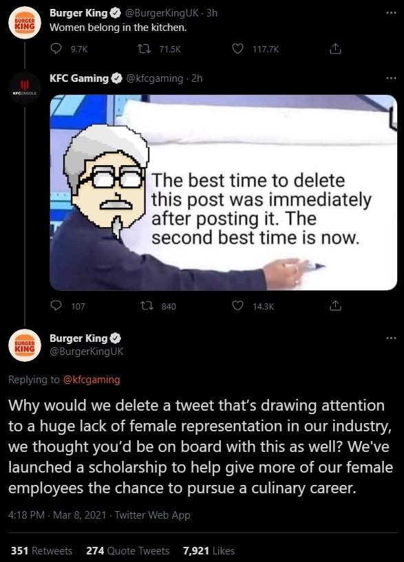 Burger King vs KFC