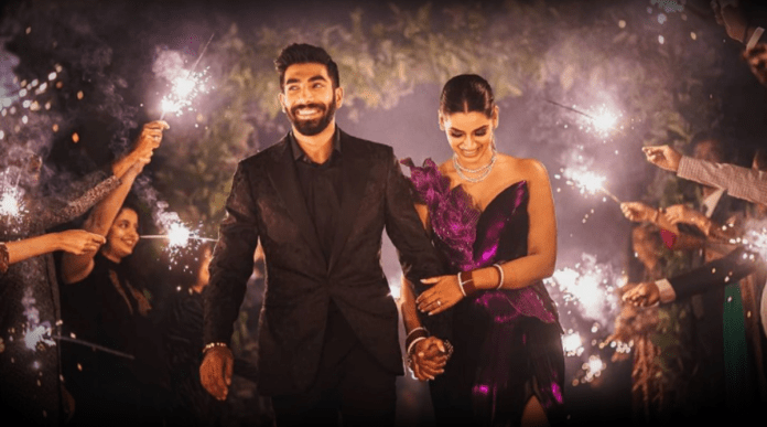 Jasprit Bumrah slammed for celebrating wedding with firecrackers after saying no to crackers