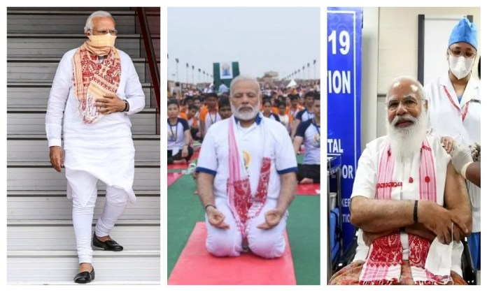 Narendra Modi promotes women made product on women's day
