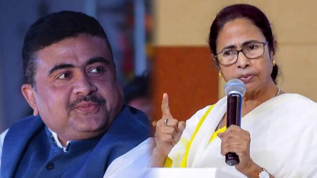 Suvendu Adhikari vs Mamata Banerjee in nandigram