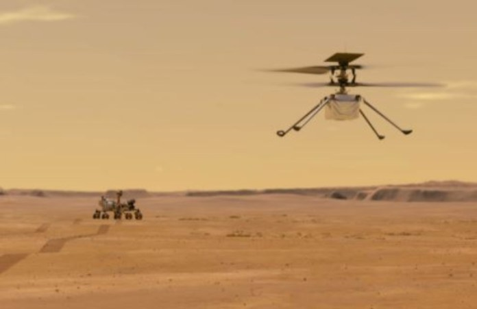 NASA'a Mars helicopter takes flight, achieves scientific milestone