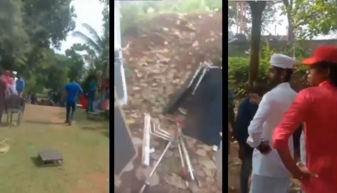 BJP workers stop film shoot featuring inter-faith love outside temple in Kerala