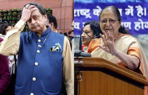 Sumitra Mahajan is dead: Fake news peddled by Shashi Tharoor, and others