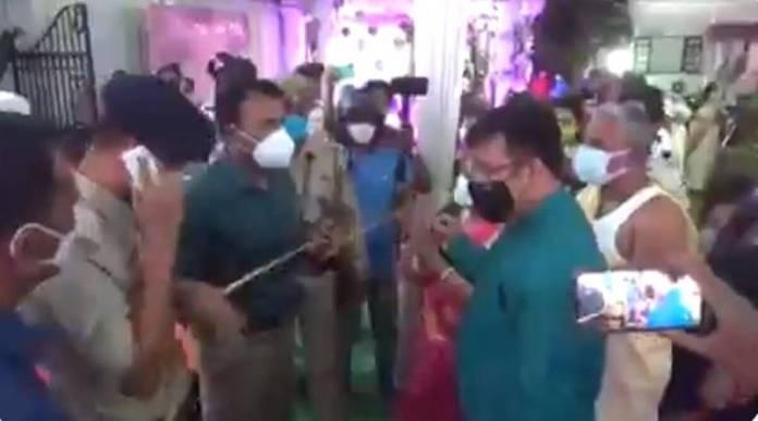 Abusive Tripura DM justifies thrashing guests at wedding