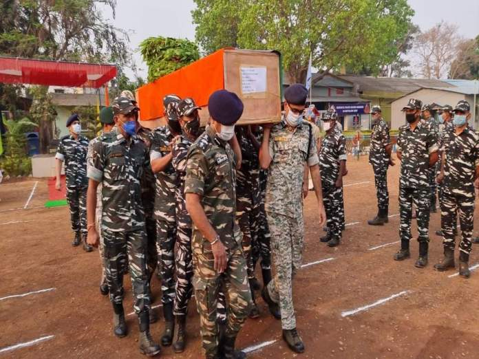 Security personnel were ambushed from three sides by over 400 Naxal terrorists