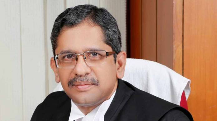 Justice NV Ramana was appointed as the 48th Chief Justice of India by President Kovind