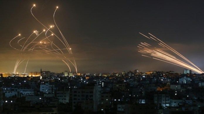 Did the media highlight that Gaza violence began after Palestinians refused to follow COVID rules?
