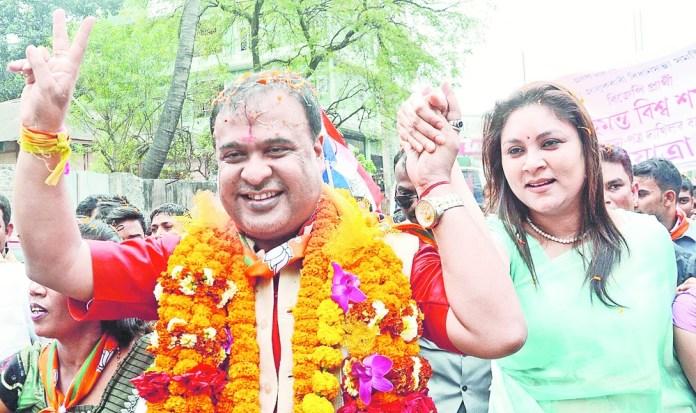 Himanta Biswa Sarma had predicted his political fortunes 30 years ago, tells wife