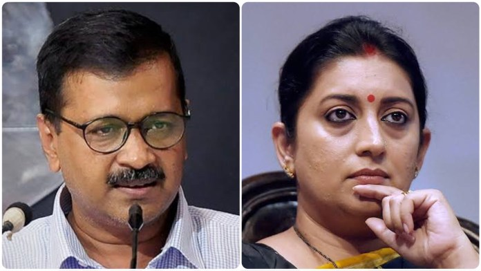 Arvind Kejriwal's AAP unleashes a misogynistic attack against BJP leader Smriti Irani
