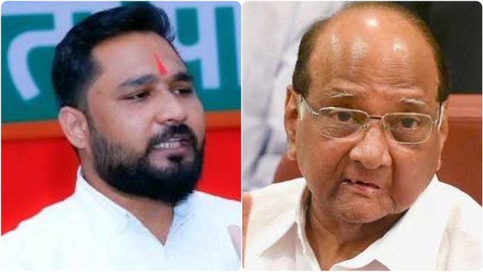 BJYM leader arrested in Maharashtra for his critical remarks against Sharad Pawar and Rohit Pawar