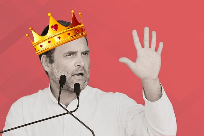Salman Khurshid declares Rahul Gandhi future King