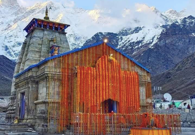 Doors of Kedarnath Temple were opened today after the 6-month winter break