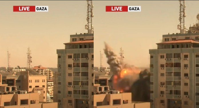 Israel demolishes Al Jalaa building that housed Al Jazeera and other media houses