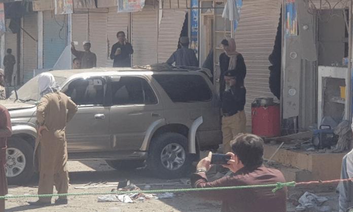 Balochistan: Blast at pro-Palestine rally in town's Murghi Bazaar kills 6