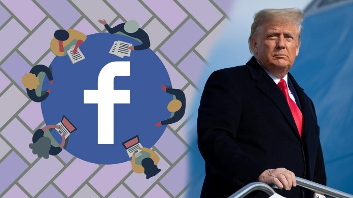 facebook donald trump ban oversight board