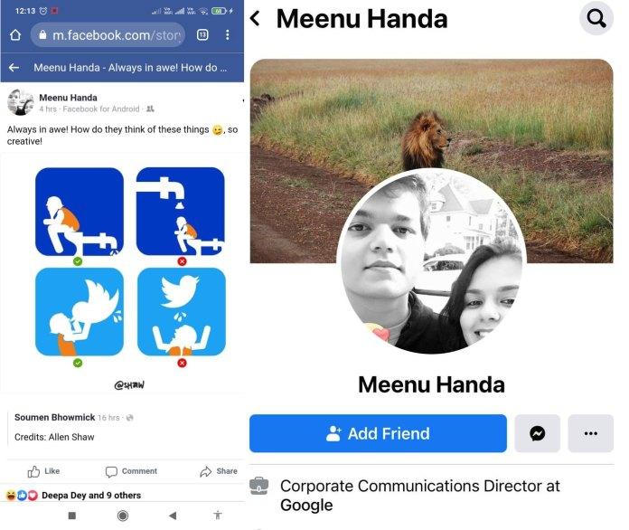 Google India's communications director shares derogatory posts against PM Modi