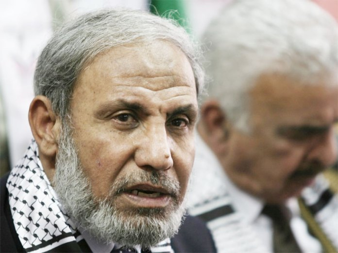 Mahmoud al-Zahar, Hamas cofounder, was interviewed at his Gaza residence days after the ceasefire