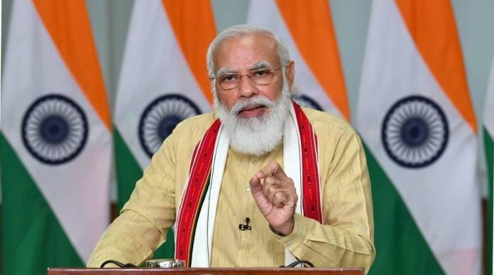 Narendra Modi speaks of Mission Indradhanush