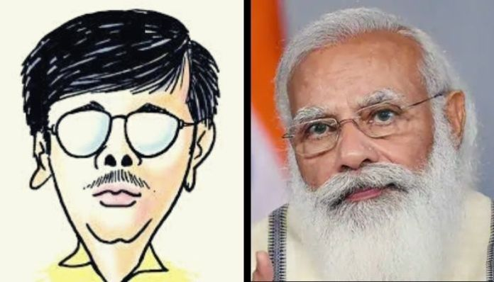 Cartoonist Manjul cries 'fascism' based on a standard Twitter correspondence: Here is the truth