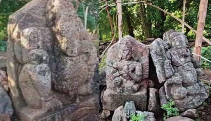 Odisha: Shiva temple, idols surface after 60 years under water